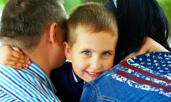 Adoptionsvermittlung